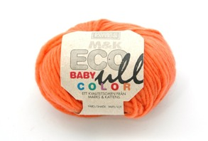 M&K Eco Babyull Color - 177 Orange