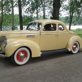 Ford 39 5 Window Coupe - Ronny Gustafsson
