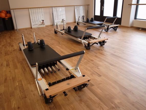 Pilates reformer på Studio Frid i Malmö