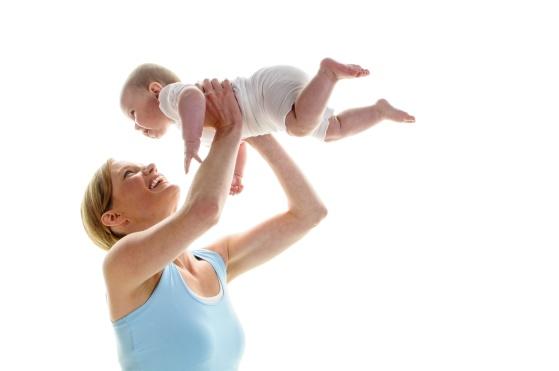 Mamma/babypilates