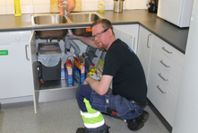 Pelle Gustavsson, VS-service