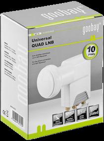 GooBay Universal Quad LNB