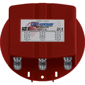 EMP DiSEqC Switch 4x1 + 1 Terrestrial