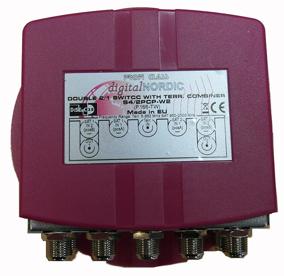 EMP DiSEqC Switch 2x1 + 2x1 + 1 Terrestrial