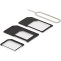 SIM-kortsadapter för micro/mini/nano-sim