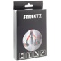 STREETZ Zipper in-ear headset 3,5mm 1,2m