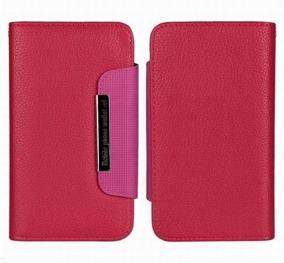 Samsung S5 Wallet Case Magneto Window pink