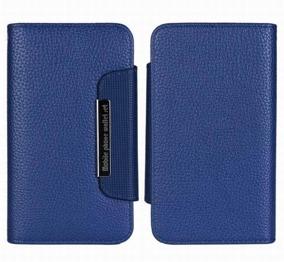 Samsung S5 Wallet Case Magneto Window marine