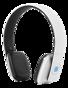 STREETZ Bluetooth-hörlurar med mikrofon, Bluetooth 4.1 LE, 8h speltid, 10m räckvidd - Vit
