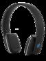 STREETZ Bluetooth-hörlurar med mikrofon, Bluetooth 4.1 LE, 8h speltid, 10m räckvidd - Svart