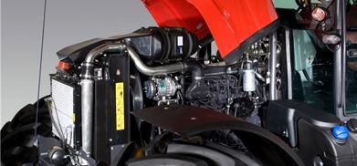 McCormick X70 bild på motor