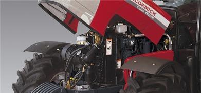McCormick C-MAX, bild på motor