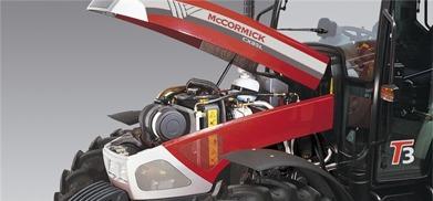 McCormick CX-L, bild på motor
