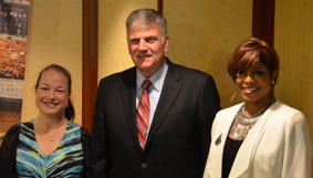 Together with Franklin Graham and Alfie Silas