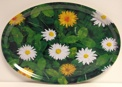 Bricka/Tray - Bland blommor och blad/Among flowers and leaves