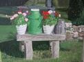 Målning/Painting: Mjölkabänk/Milk Bench
