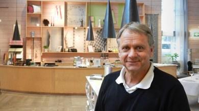 Dick Johansson, Marknads- och Exportchef på Klässbols Linneväveri