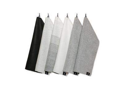 Handduk: Bada - Handduk 50x70 cm - Svart