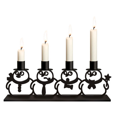 Adventljusstake/Advent Candlestick - Adventsljusstake-Julpanik/Candlestick XMS Panic