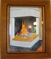 Målning/Painting: Eldstaden/The Fireplace