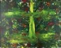 Målning/Painting: Någonstans bland alla skuggorna/Somewhere among all the shadows