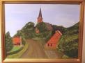 Målning/Painting: På genomresa i Tyskland/Traveling through Germany