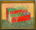 Målning/Painting: Blomsterbyrå/Flowery Drawer Chest