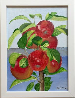 Äpple på gren/Apple on branch - Äpple på gren/Apple on branch