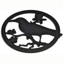 Karottunderlägg/Trivets - Koltrast/Blackbird