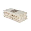 Bad/Bath - Handdukar/Towels, Linnefrotté/Linen Terry - Gästhandduk/Guest towel 35x55 cm: Benvit/Offwhite