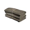 Bad/Bath - Handdukar/Towels, Linnefrotté/Linen Terry - Gästhandduk/Guest towel 35x55 cm: Natur-svart/Nature-black