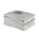 Bad/Bath - Handdukar/Towels, Linnefrotté/Linen Terry - Handduk/Hand towel 50x70 cm: Vit-svart/White-black