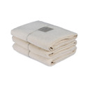 Bad/Bath - Handdukar/Towels, Linnefrotté/Linen Terry - Duschlakan/Shower towel 70x140 cm: Benvit/Offwhite