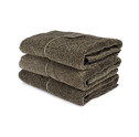 Bad/Bath - Handdukar/Towels, Linnefrotté/Linen Terry - Duschlakan/Shower towel 70x140 cm: Natur-svart/Nature-black