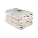 Bad/Bath - Handdukar/Towels, Linnefrotté/Linen Terry - Badlakan/Bath towel 100x150 cm: Benvit/Offwhite