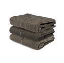 Bad/Bath - Handdukar/Towels, Linnefrotté/Linen Terry - Badlakan/Bath towel 100x150 cm: Natur-svart/Nature-black