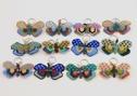 Nyckelringar/Keyrings - Nyckelringar/Keyrings: Fjäril/Butterfly