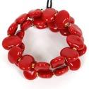 Armband/Bracelets - Flat - Armband/Bracelet Flat - Klarröd/Bright Red