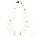 Halsband/Necklace - PitaPat - Halsband/Necklace PitaPat - Vit/White