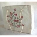 Handgjort papper/Handmade paper - Presentpåse/Gift bag - Presentpåse/Gift bag - Stor/Big
