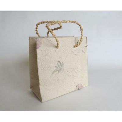 Handgjort papper/Handmade paper - Presentpåse/Gift bag - Presentpåse/Gift bag - Liten/Small