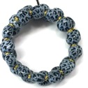Armband/Bracelets - Tiny Smarty - Midnight Blue/White (Light Blue)