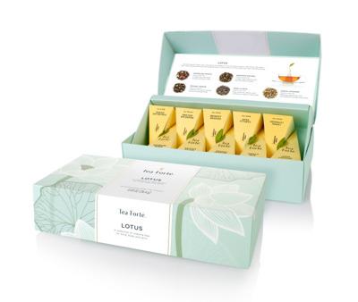 Tepåsar/Tea bags Lotus Collection (ekologisk) - Tepåsar/Tea bags Lotus Collection (ekologic)