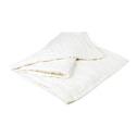 Bädd/Bed: Pläd, Överkast & Kuddvar/Plaid, Bedspread & Cushion case - Veckat överkast/Bedspread Pleated 150x240 cm: Benvit/Offwhite