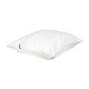 Bädd/Bed: Kuddvar/Cushion case - Kuddvar/Pillow case 47x47 cm: Benvit/Offwhite