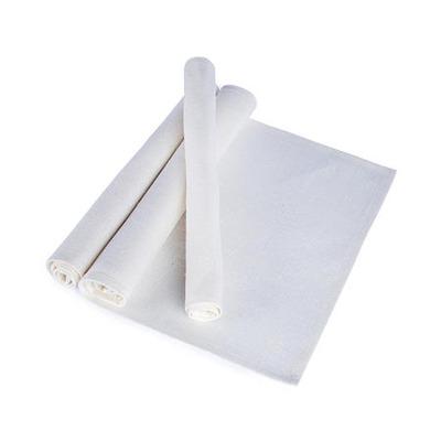 Bordstablett: Säckväv - Tablett Säckväv - Benvit