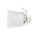 Lavendelkuddar/Lavendel bags - Lavendelpåse/Lavendel bag: Vit-natur linsnöre/Lavendel bag White-natural string