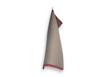 Handduk/Towel - Grov släng/Rough Dash - Grov släng/Rough Dash - Röd/Red