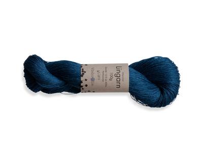 Lingarn/Linen Yarn - Garnhärva/Linen Yarn - Blå/Blue