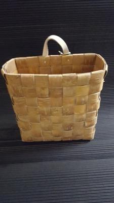 Näver/Birch Bark - Väggkorg/Wall Basket - Näver väggkorg/Birch bark wall basket